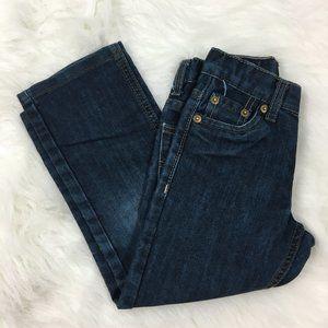 Levi's 511 Slim Fit Dark Adjustable Waist Jeans